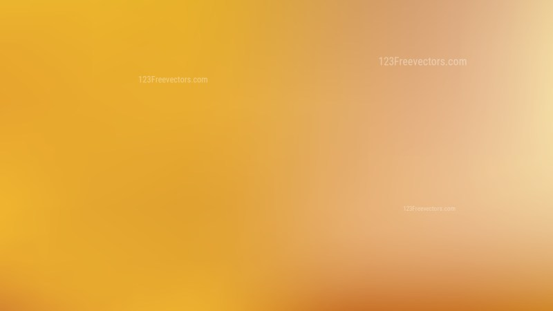 Orange Simple Background