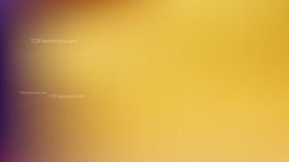 Orange Blurry Background