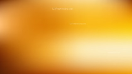 Orange Blur Background Vector