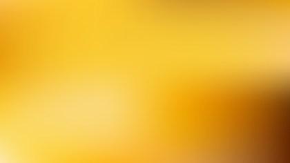 Orange Blurry Background Vector Illustration