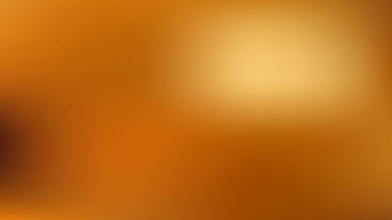 Orange Blur Background