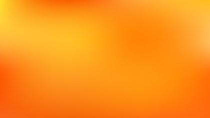 Orange Blurred Background Image