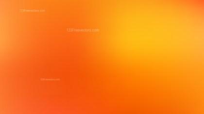 Orange Blurry Background Vector Image