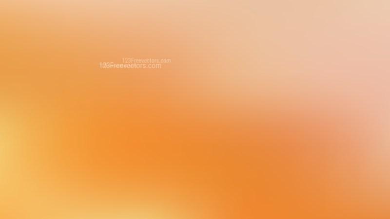 Orange Gaussian Blur Background
