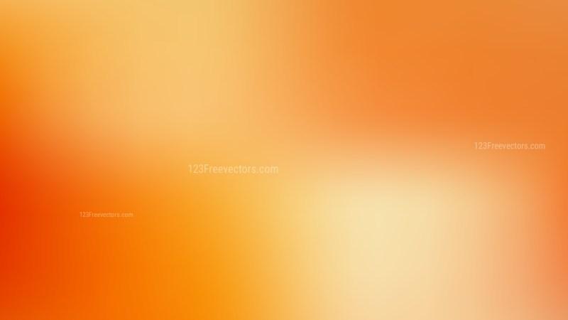 Orange Business PowerPoint Background Vector Graphic
