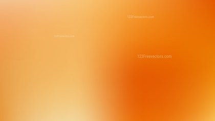 Orange Corporate PPT Background Vector
