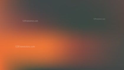 Orange and Black Blurred Background Vector Image