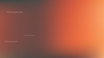 Orange and Black Blur Background Illustrator