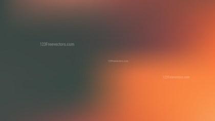 Orange and Black Blurry Background Vector Illustration