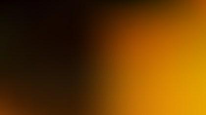 Orange and Black Presentation Background Vector