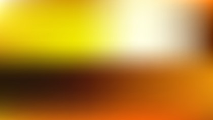 Orange and Black Blurred Background