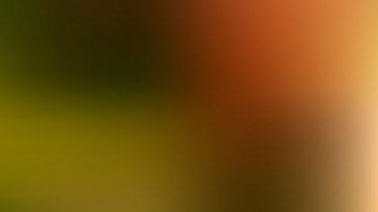 Orange and Green PowerPoint Slide Background Vector Art