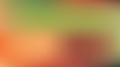 Orange and Green Professional PowerPoint Background Graphic