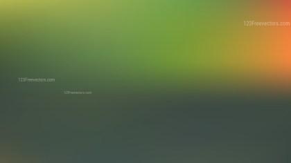 Orange and Green Blur Photo Wallpaper Design