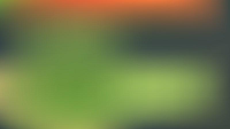 Orange and Green Blur Background Vector Graphic