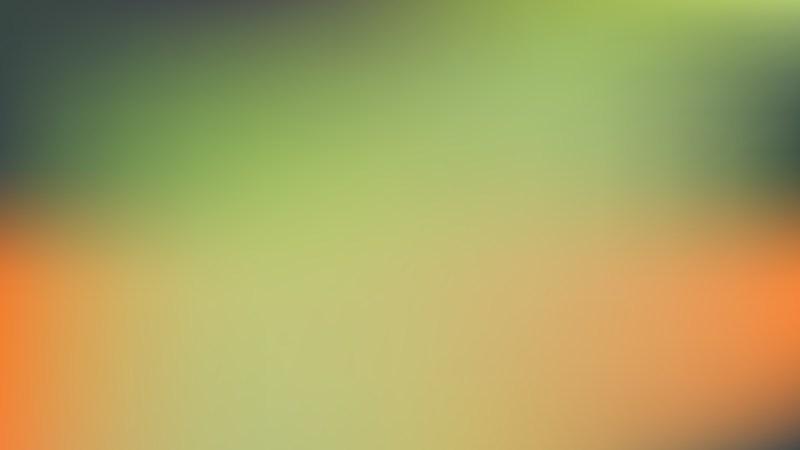 Orange and Green Presentation Background Vector