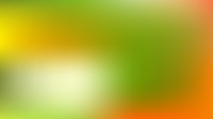 Orange and Green Blank background Illustration