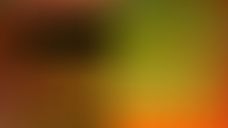 Orange and Green Blur Background Design
