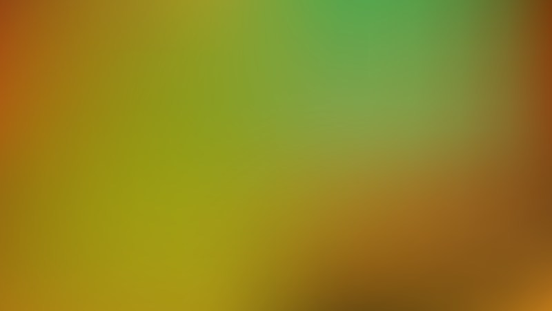 Orange and Green PowerPoint Background Vector Graphic