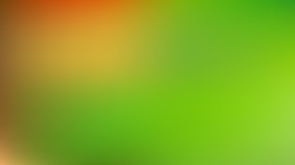 Orange and Green PPT Background Vector Image