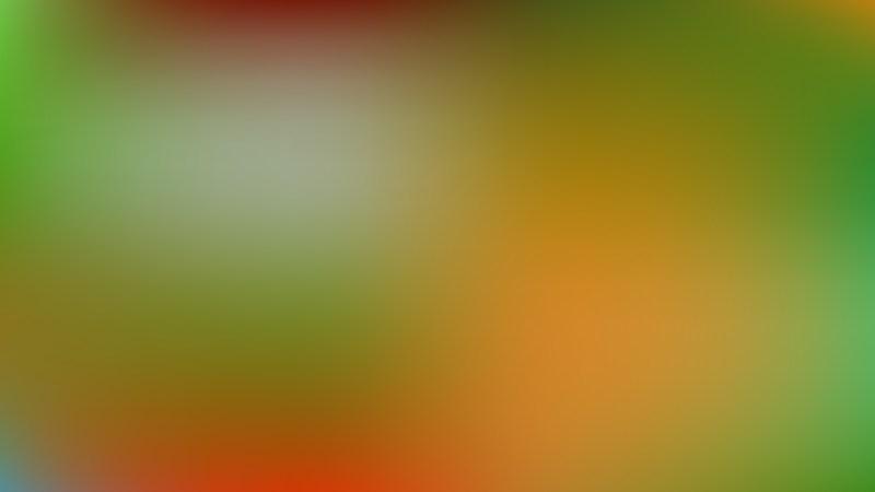Orange and Green Presentation Background