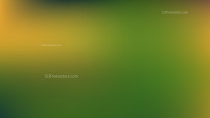 Orange and Green Corporate PowerPoint Background