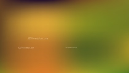 Orange and Green PowerPoint Presentation Background