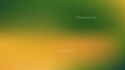 Orange and Green Professional PowerPoint Background
