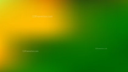 Orange and Green Business Presentation Background Design