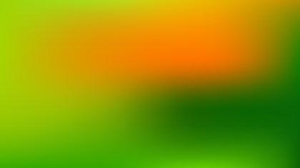 Orange and Green PowerPoint Presentation Background Illustrator