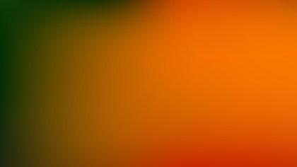 Orange and Green Professional Background Vector Illustration