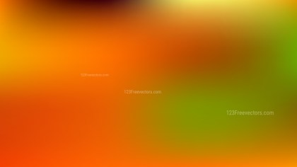 Orange and Green PowerPoint Background