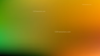 Orange and Green PPT Background