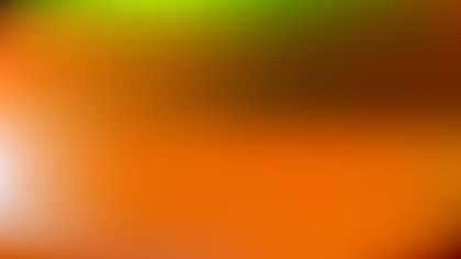 Orange and Green Simple Background