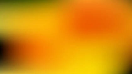 Orange and Green Blur Background Graphic