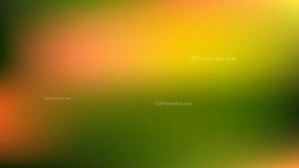 Orange and Green Blurry Background Illustration