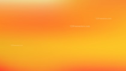 Orange and Yellow PowerPoint Background