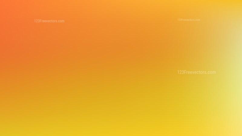 Orange and Yellow Presentation Background