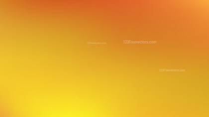 Orange and Yellow Blur Background Vector