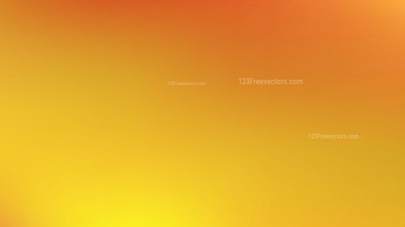 Orange and Yellow Blur Background Vector