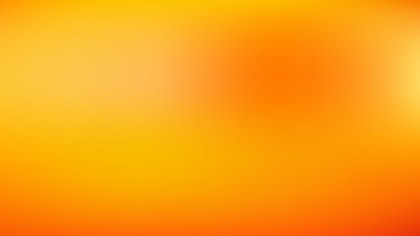 Orange and Yellow PPT Background Illustration