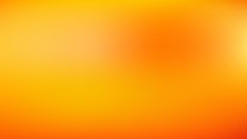 Orange and Yellow PPT Background Illustration