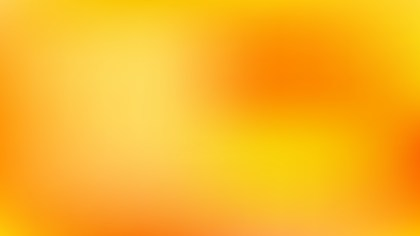 Orange and Yellow Corporate Presentation Background