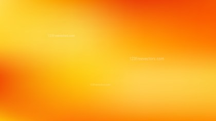 Orange and Yellow PowerPoint Presentation Background