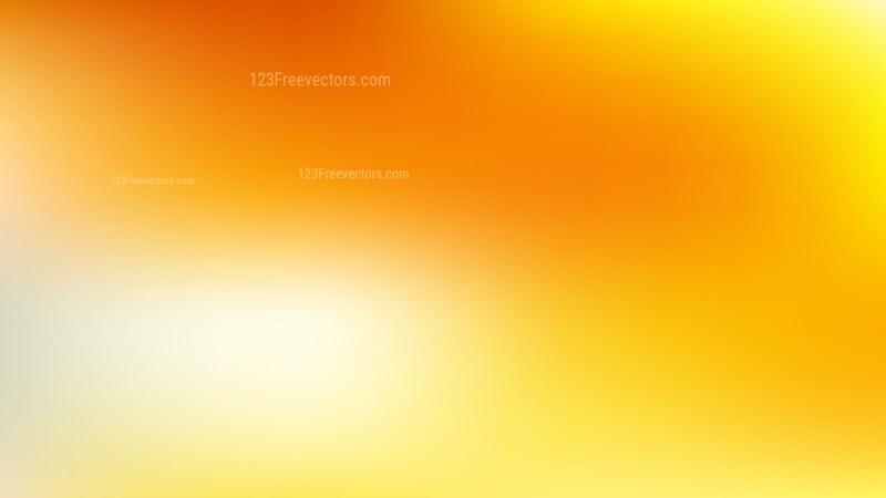 Orange and Yellow Gaussian Blur Background