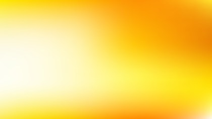 Orange and Yellow PowerPoint Presentation Background Vector Graphic