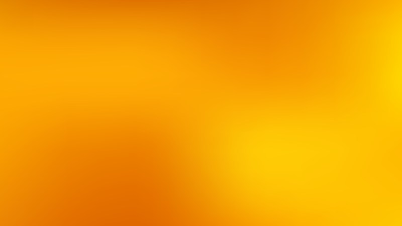 Orange and Yellow Gaussian Blur Background Vector Illustration