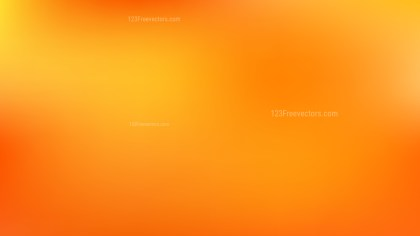 Orange and Yellow Blur Photo Wallpaper Vector