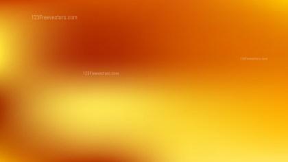 Orange and Yellow Blurry Background