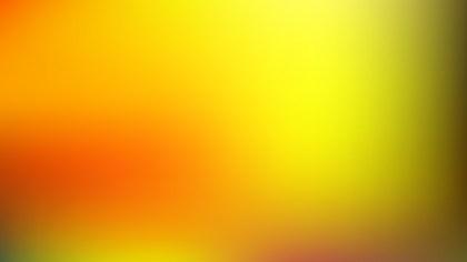 Orange and Yellow Blurred Background Vector Art